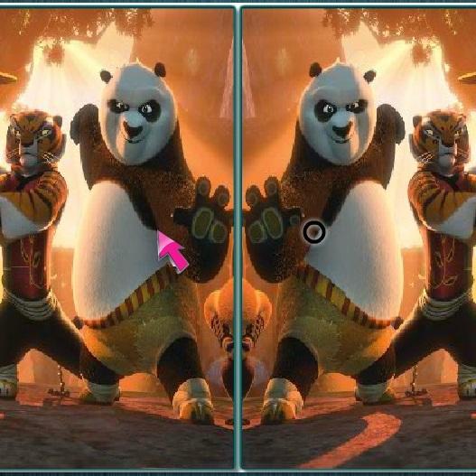 Кунг-фу Панда найти различия