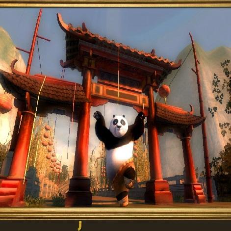 Кунг-фу Панда ищем буквы