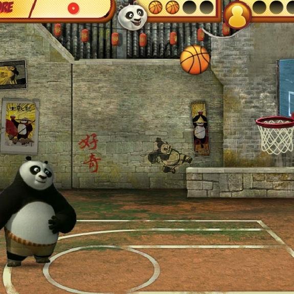 Кунг-фу Панда баскетболист