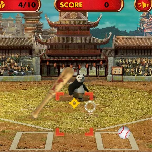 Кунг-фу Панда бейсболист
