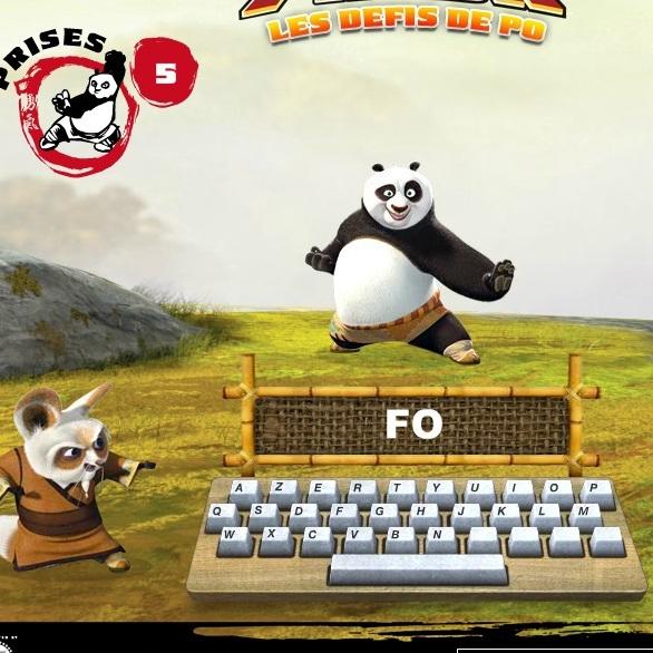 Кунг-фу Панда учимся пичатать