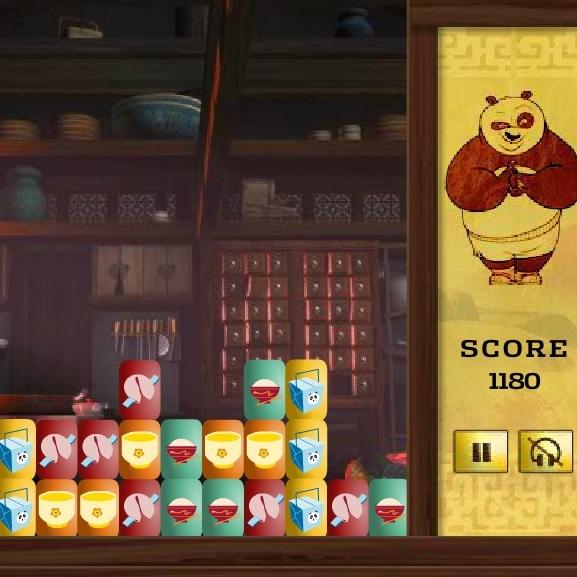 Кунг-фу Панда безумная еда