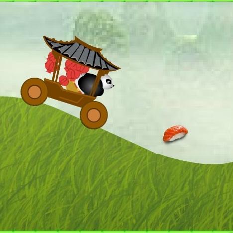 Кунг-фу Панда сумашедшая езда