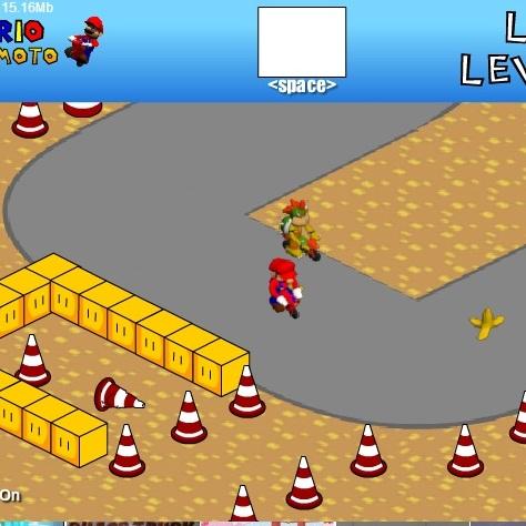 Марио гонка мини-мото