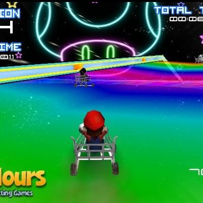 Марио гонки на тачках 2