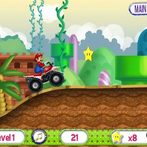 Марио на квадроцикле