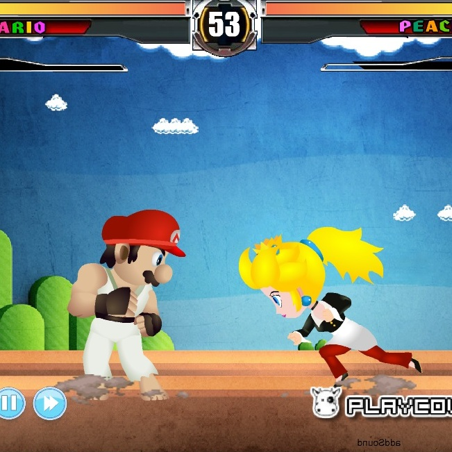 Марио в уличных драках