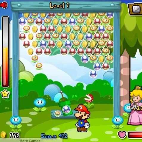 Марио стрельба по плодам