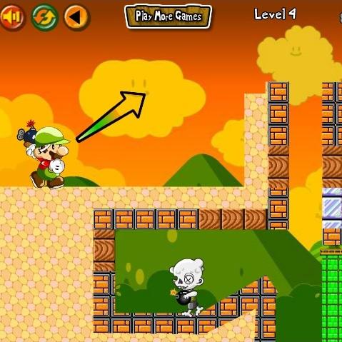 Марио бомбардер зомби