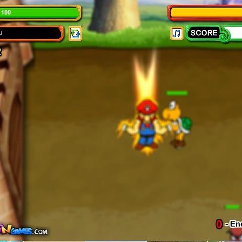 Марио защита замка