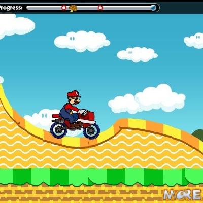 Марио и Луиджи мотогонщики