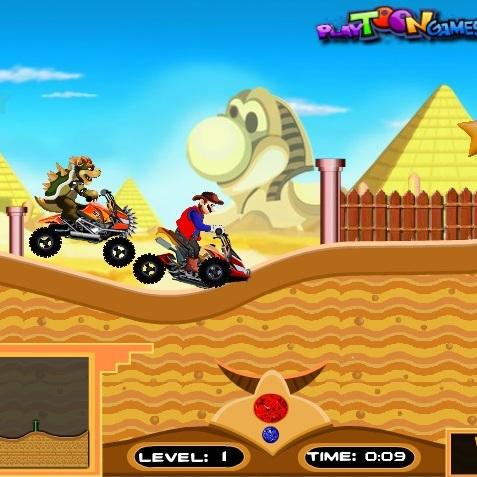 Марио приключения в Египте