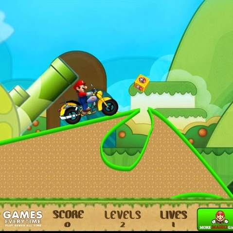 Марио мотогонщик