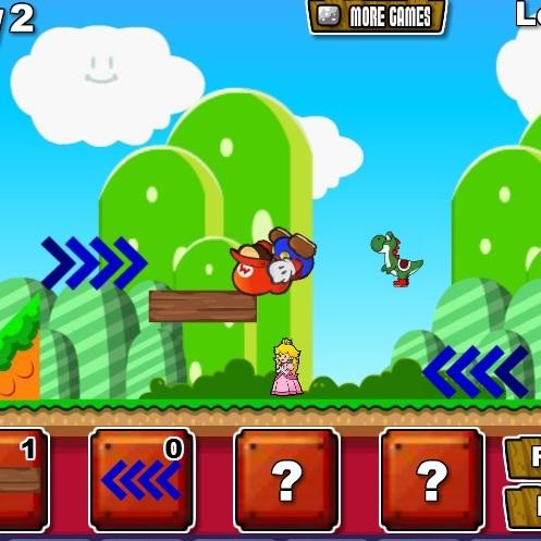 Марио спасает друзей