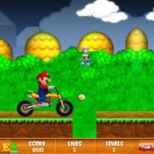 Марио забавная поездка