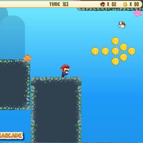 Марио под водой