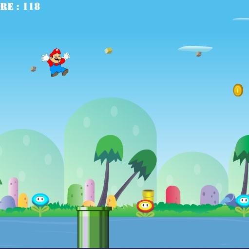 Марио трюки в прыжке