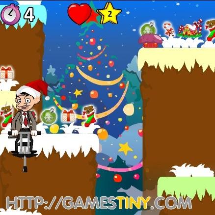 Мистер Бин рождественские прыжки