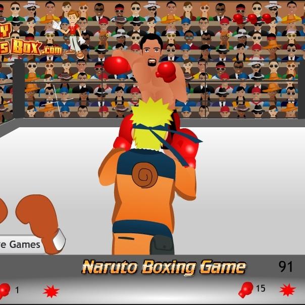 Наруто боксер