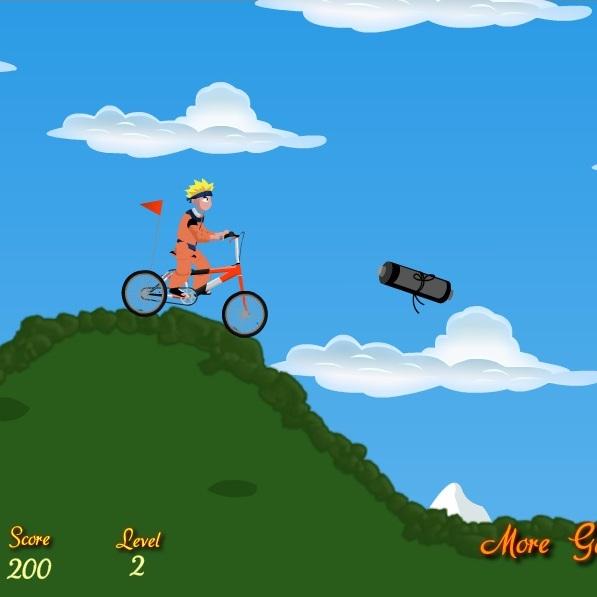 Наруто вело байкер